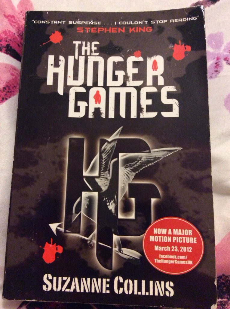 A peek into my personal library: the hunger games
