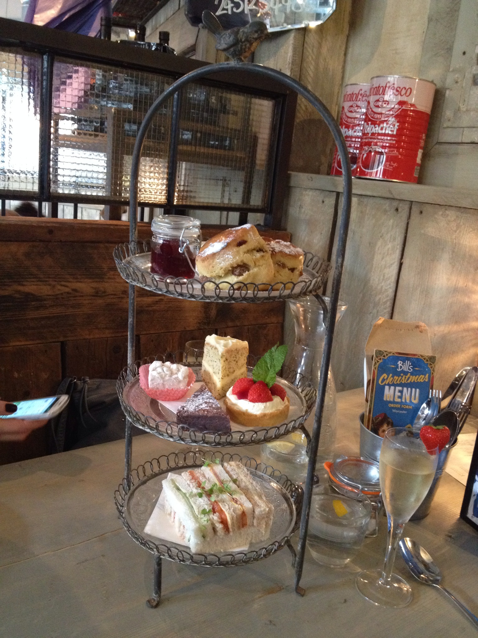 Afternoon Tea at Bill's Worcester