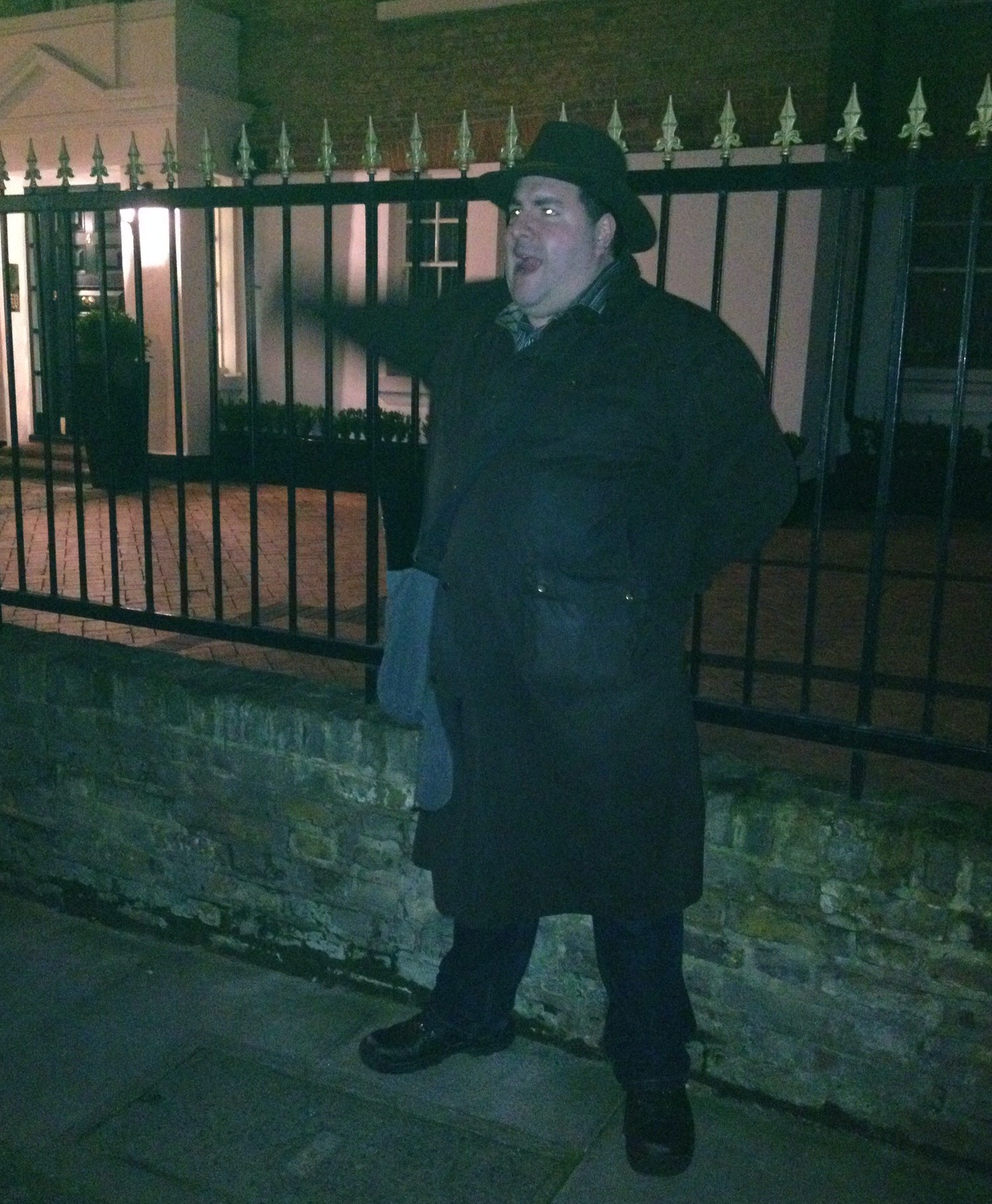 Richard from the Jack the Ripper Walk with Ripper Vision
