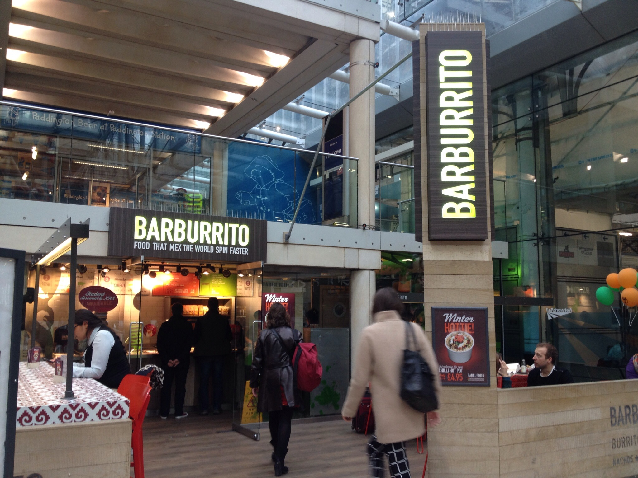 Barburrito Paddington Station