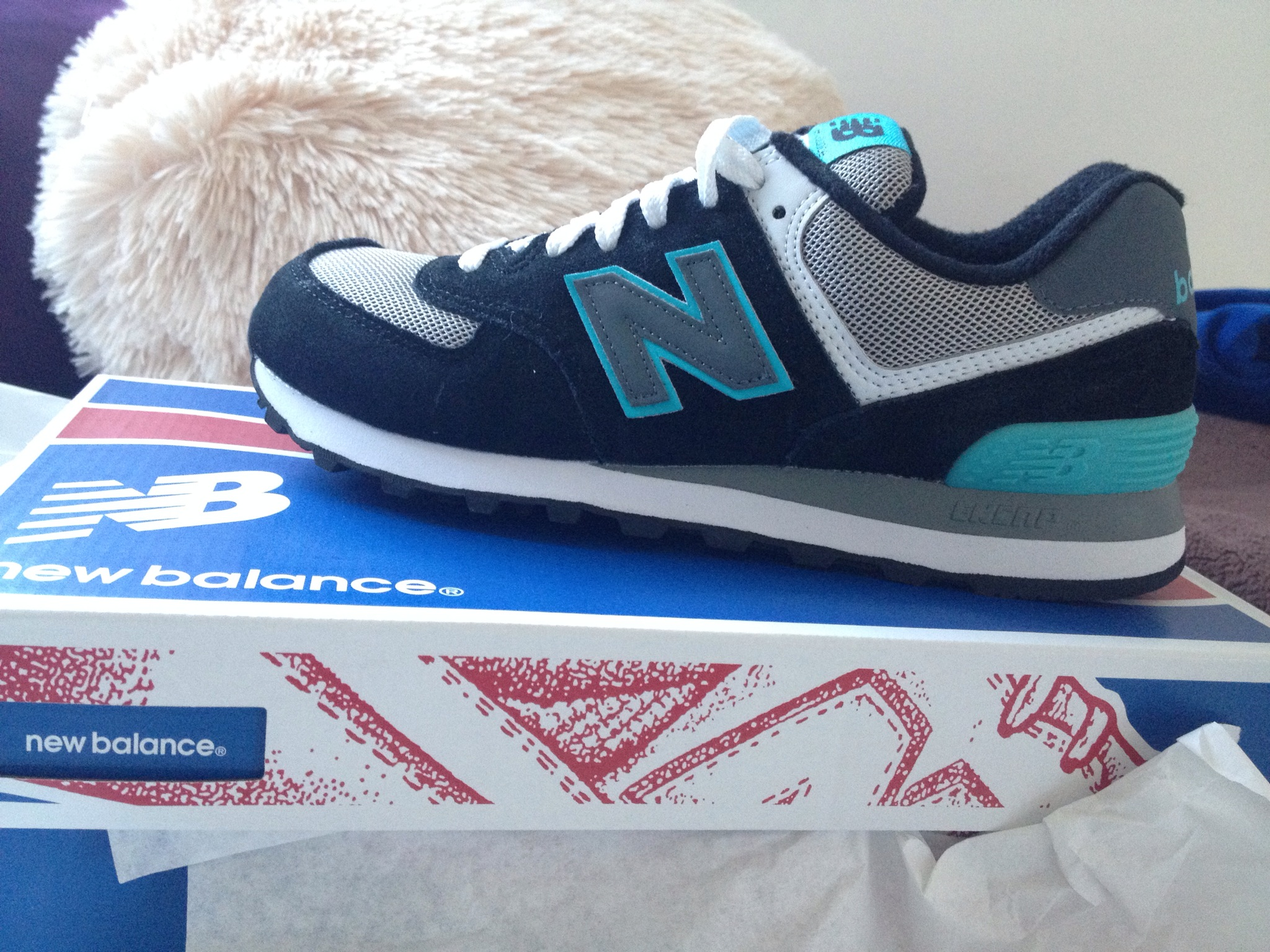 Good for everything…Trainers! My New Balance babies…