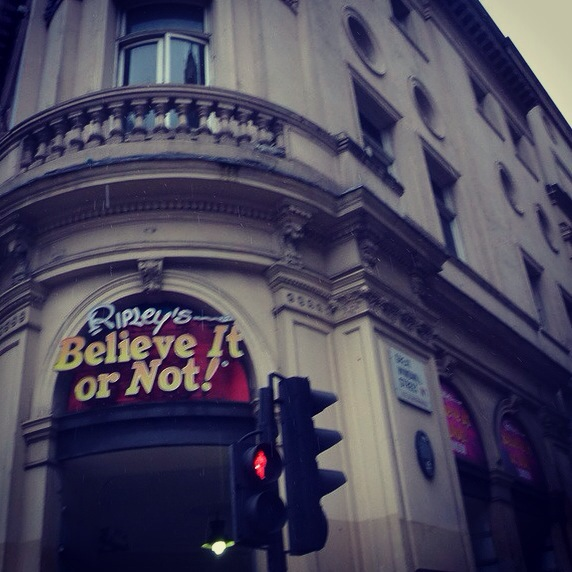 Something a Little Different for the weekend … Ripley's Believe It Or Not