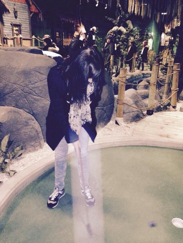 Top 5 tips for playing mini golf (and not stropping!)