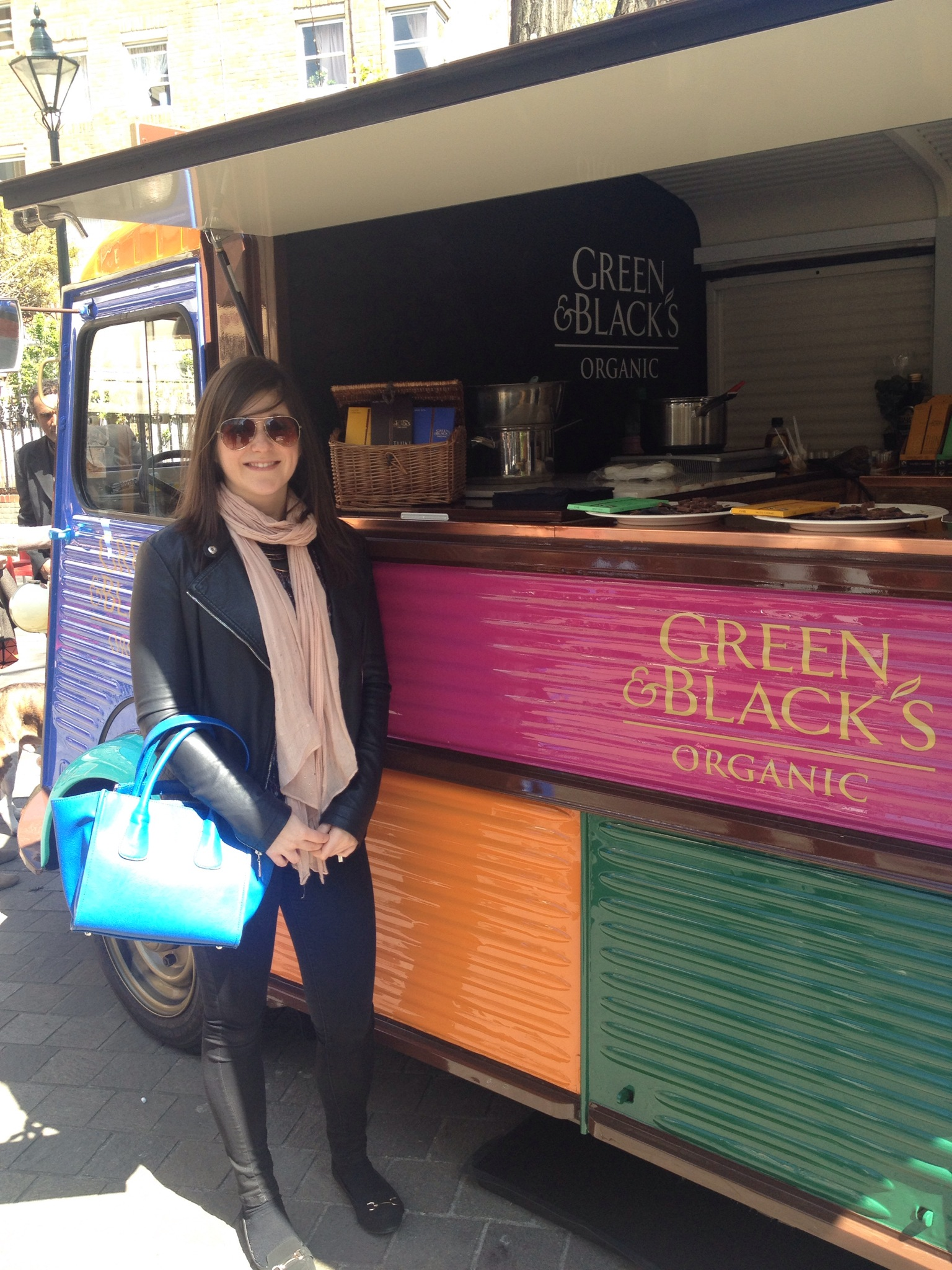 Green and Blacks pop-up Portobello Road
