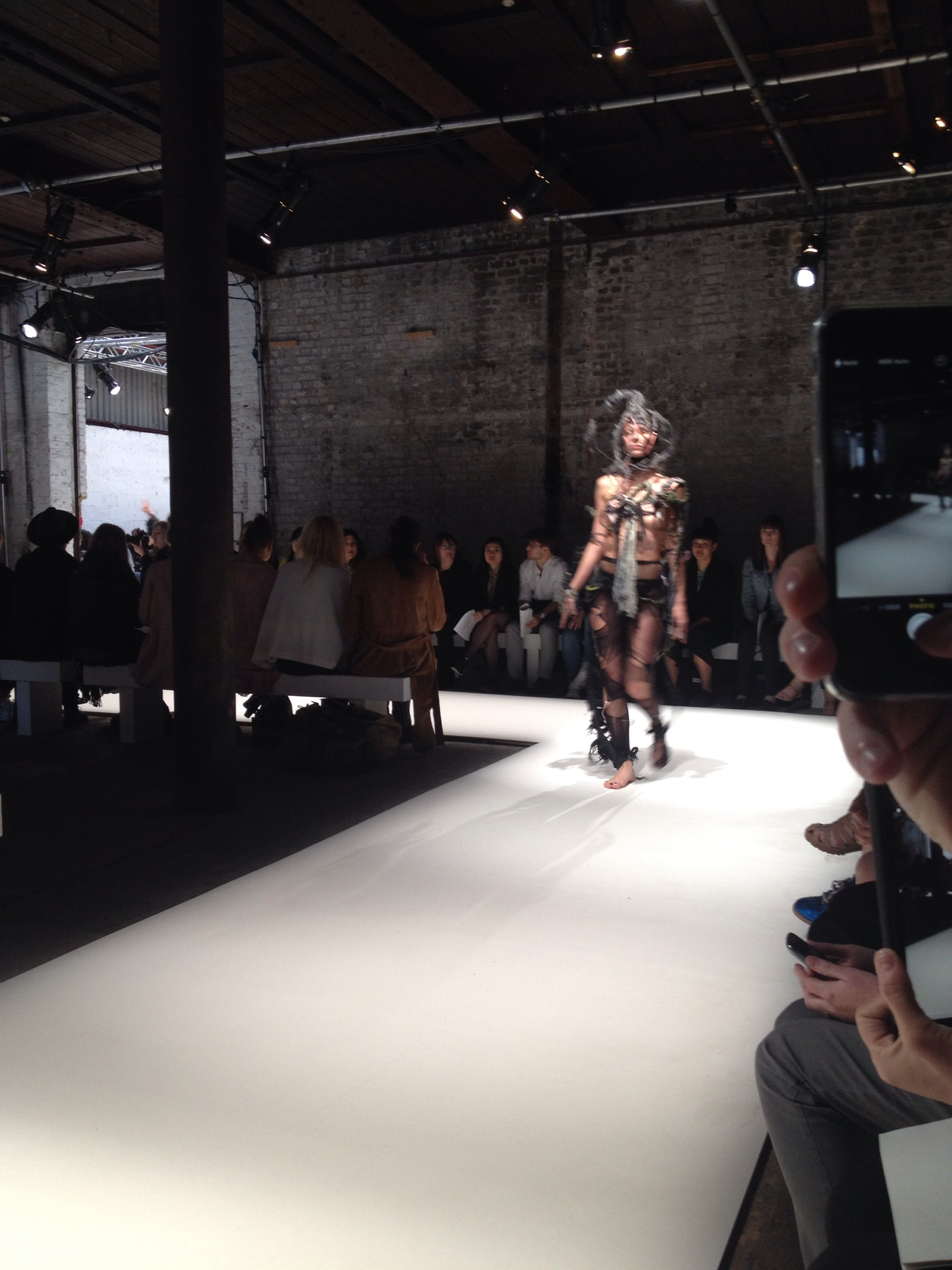 LCF Graduates Cat Walk