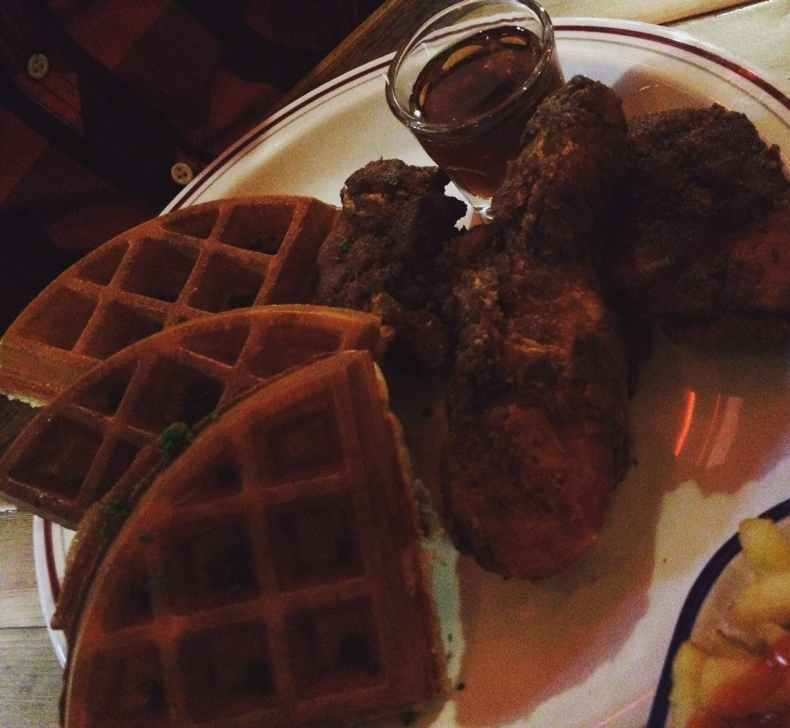 Chicken & Waffles - Dirty Bones Soho