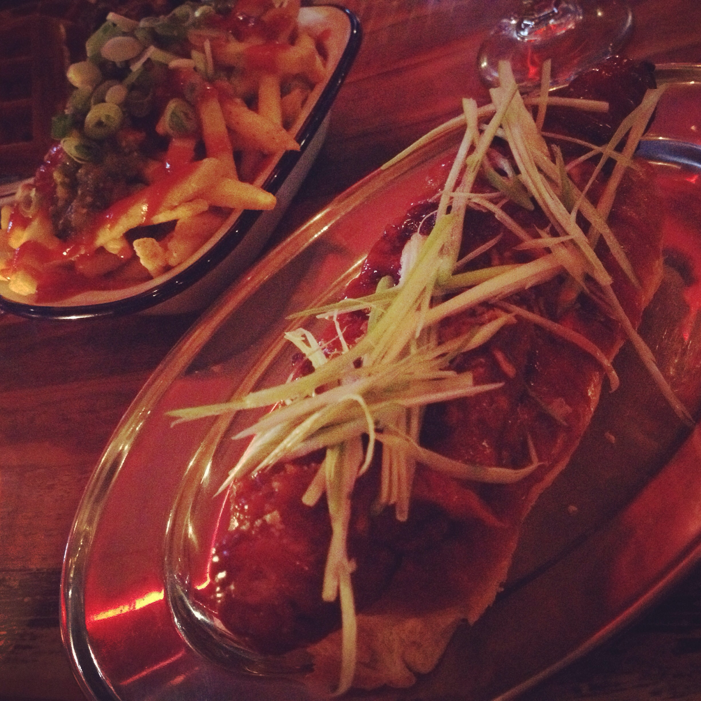 Dirty Dog & Chilli Fries - Dirty Bones Soho