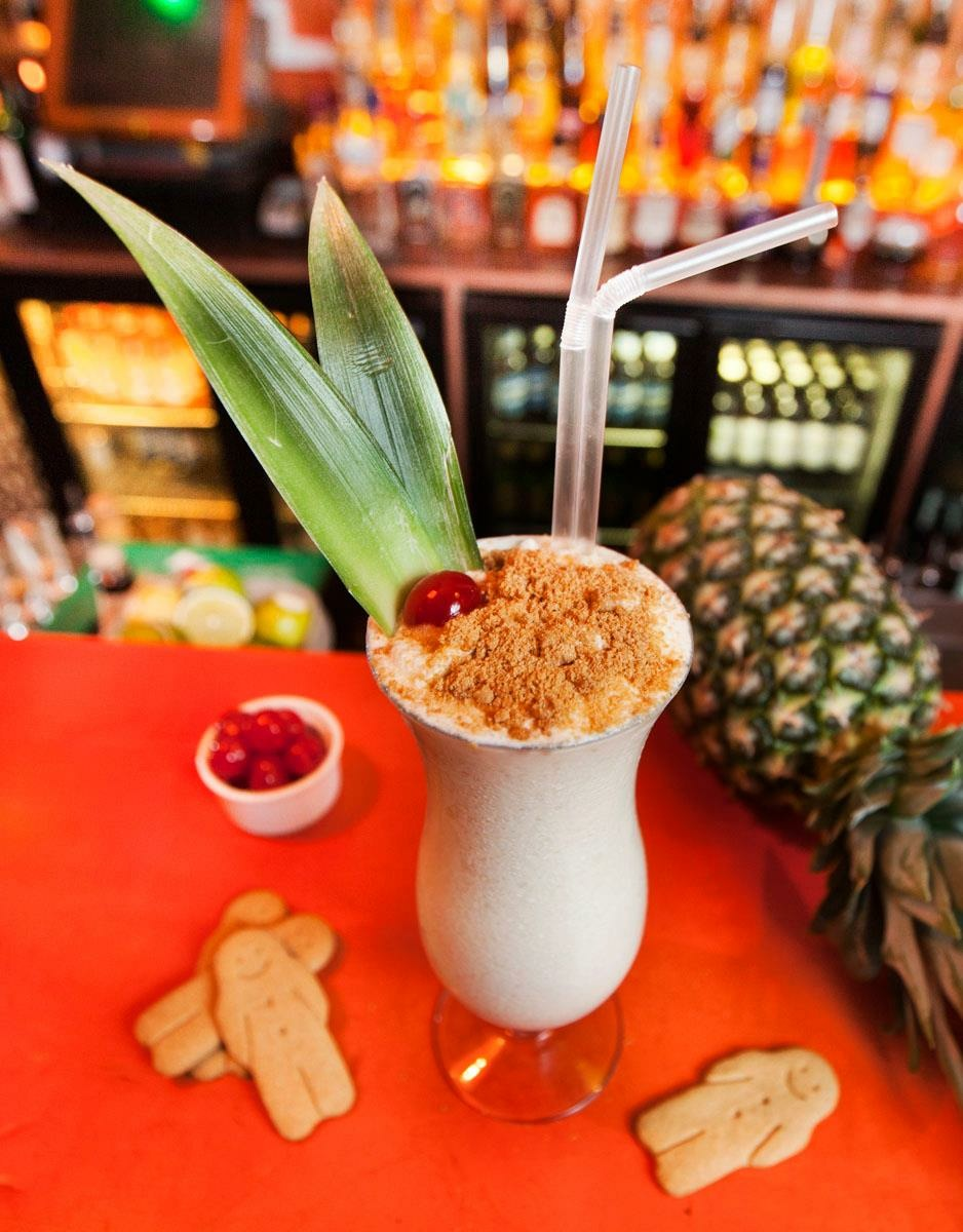 Gingerbread Colada at Barrio Soho