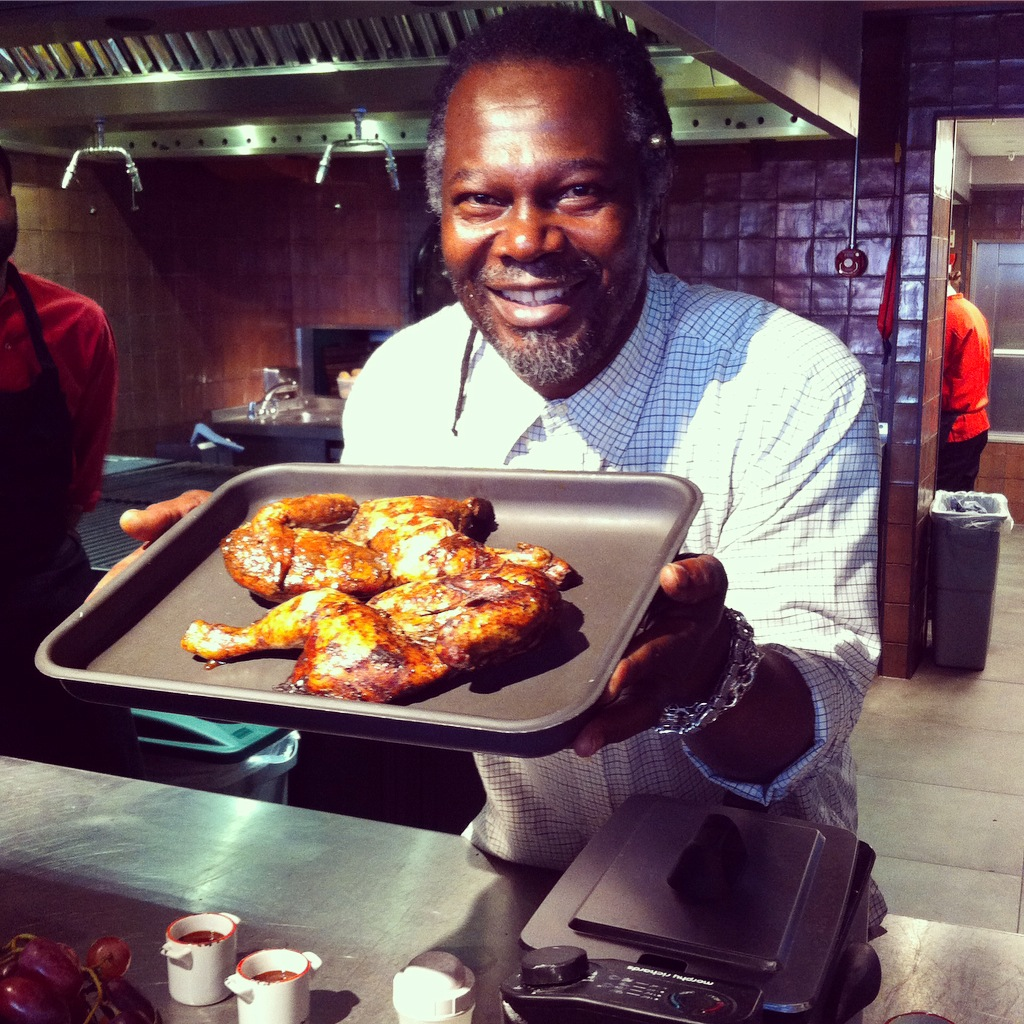 Levi Roots Cookery Session (15)