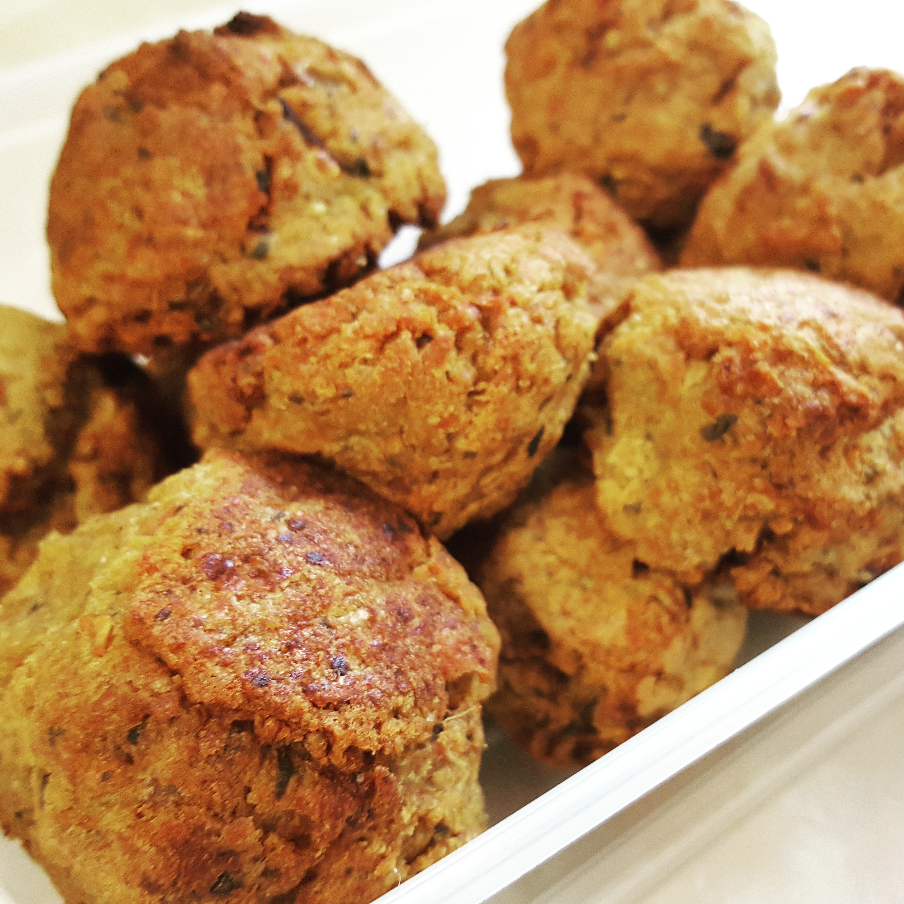 Recipe: Homemade spicy falafel