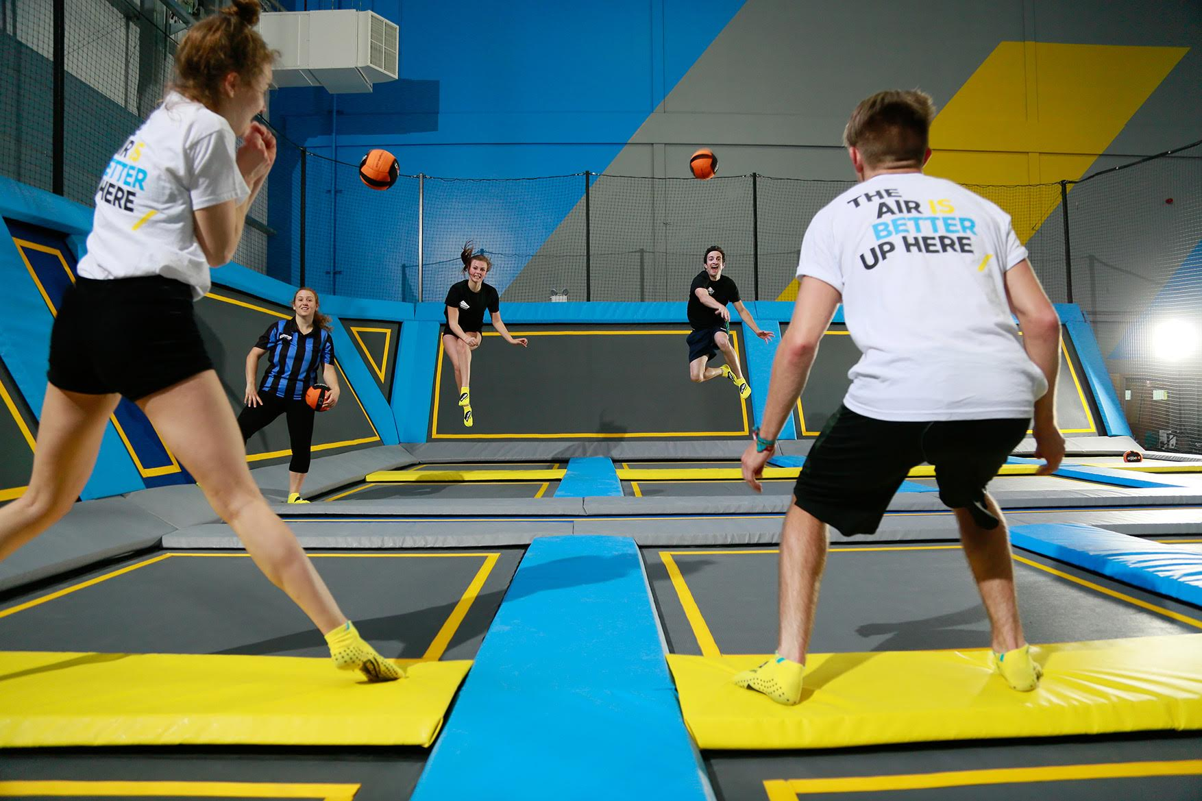 Oxygen Freejumping, trampolining, London