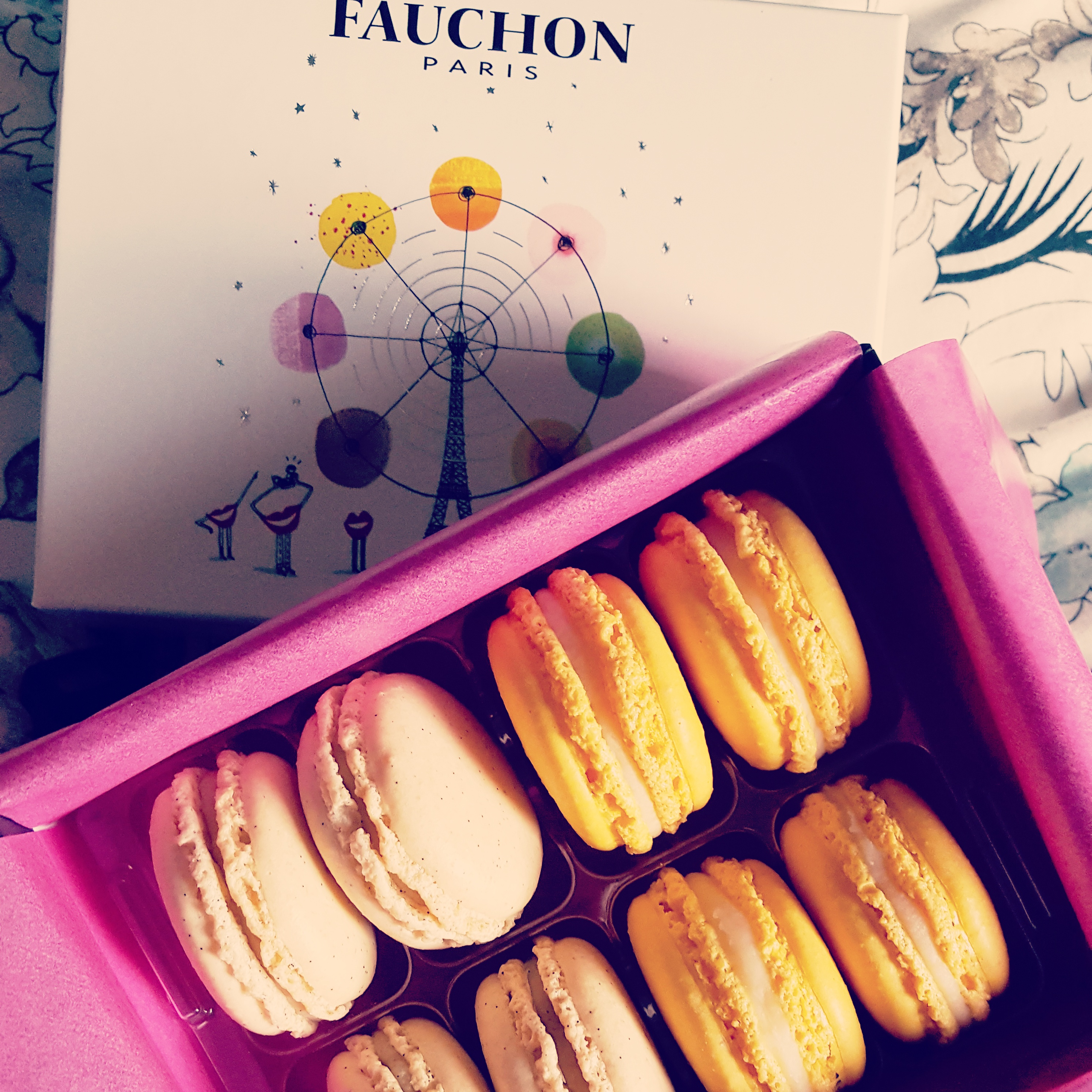 Foodie Finds|| My little pressie from France – Fauchon Paris Macarons