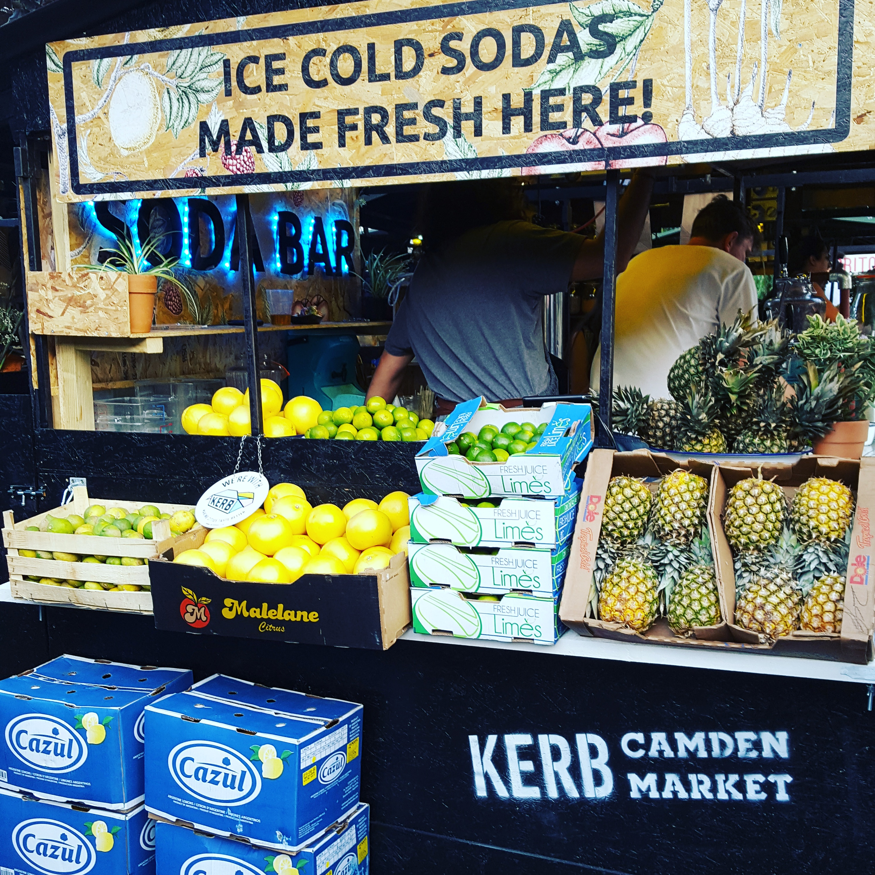 Kerb Camden market, Square Root