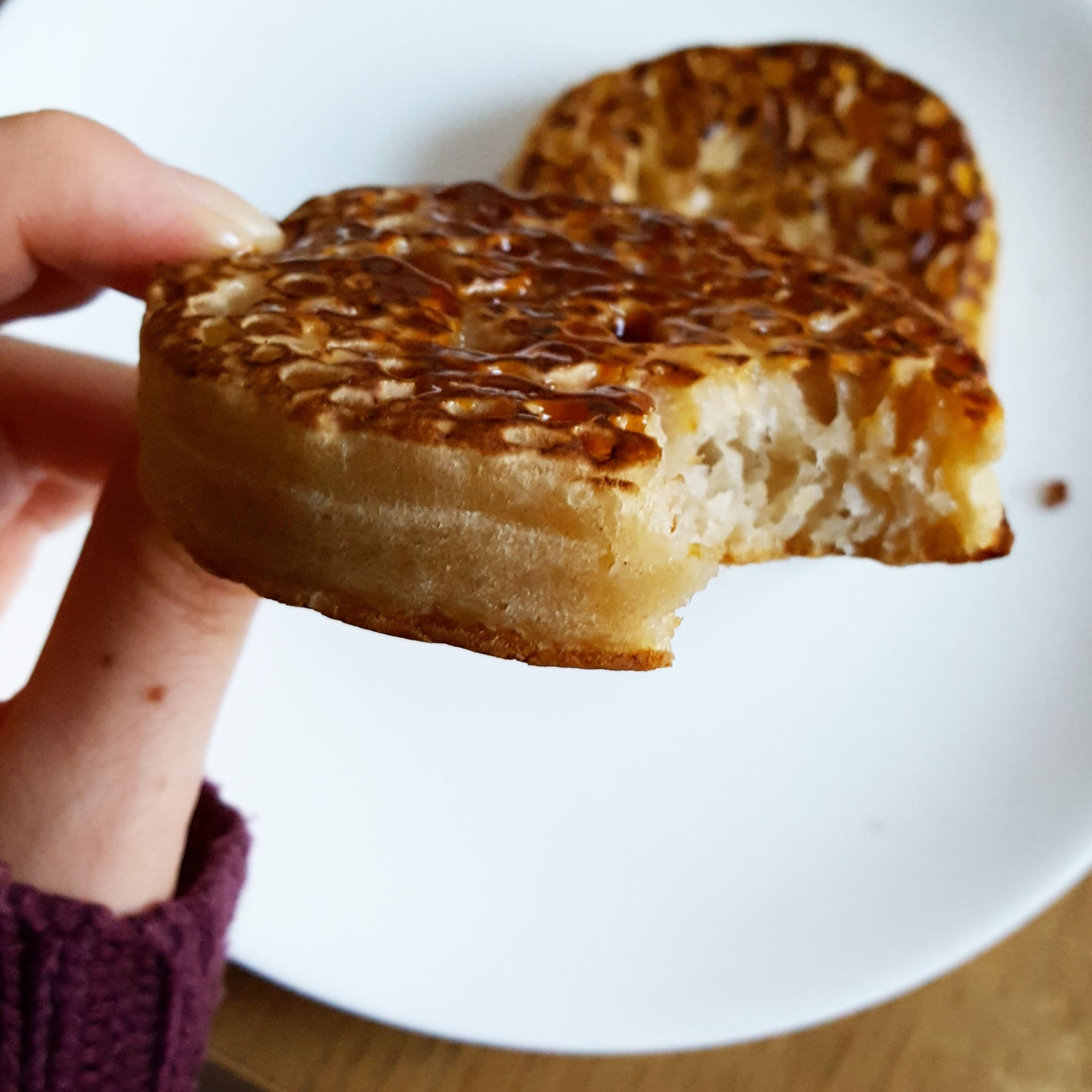 Recipe Crumpets 4 ways