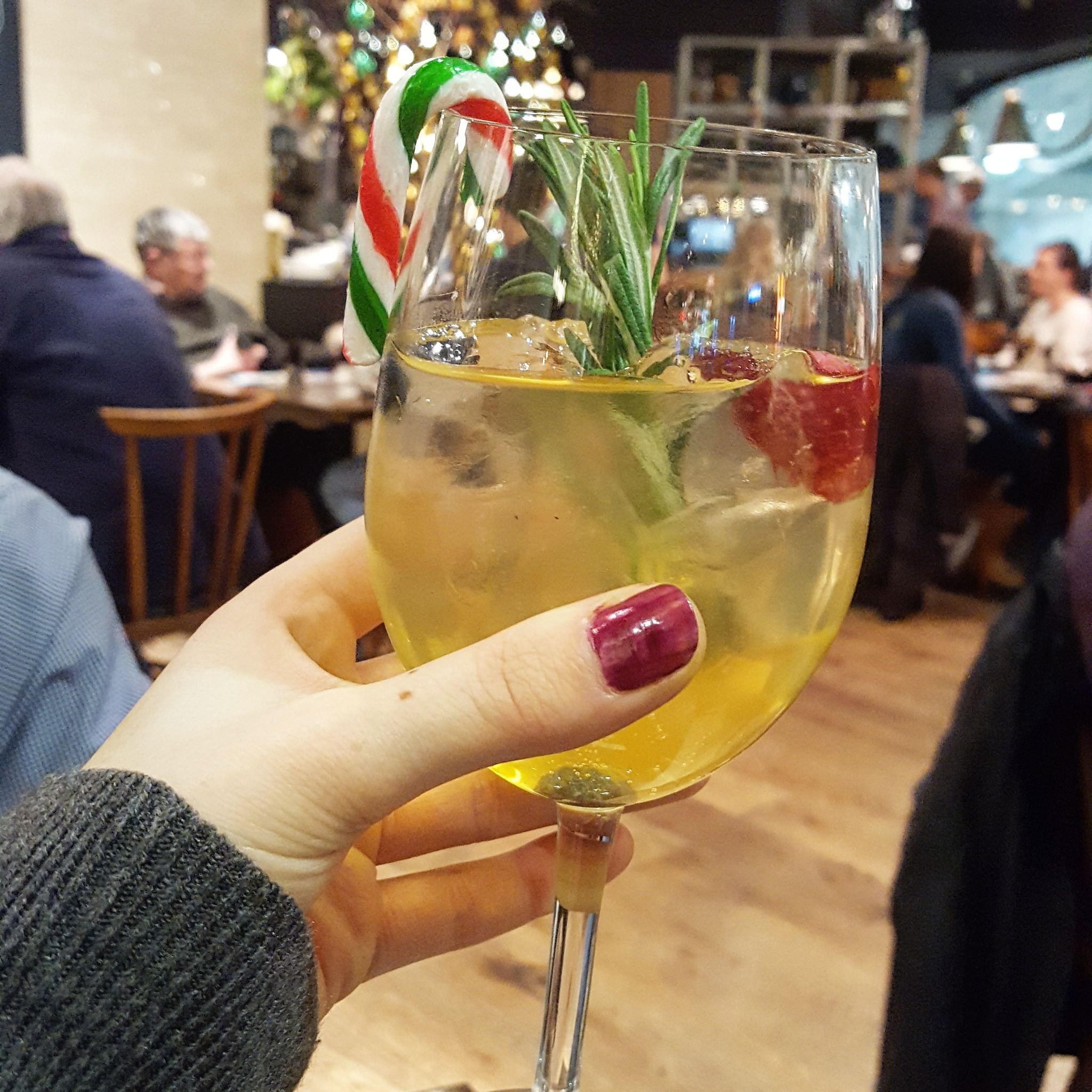 Zizzi Christmas menu, O2 Centre Finchley Road