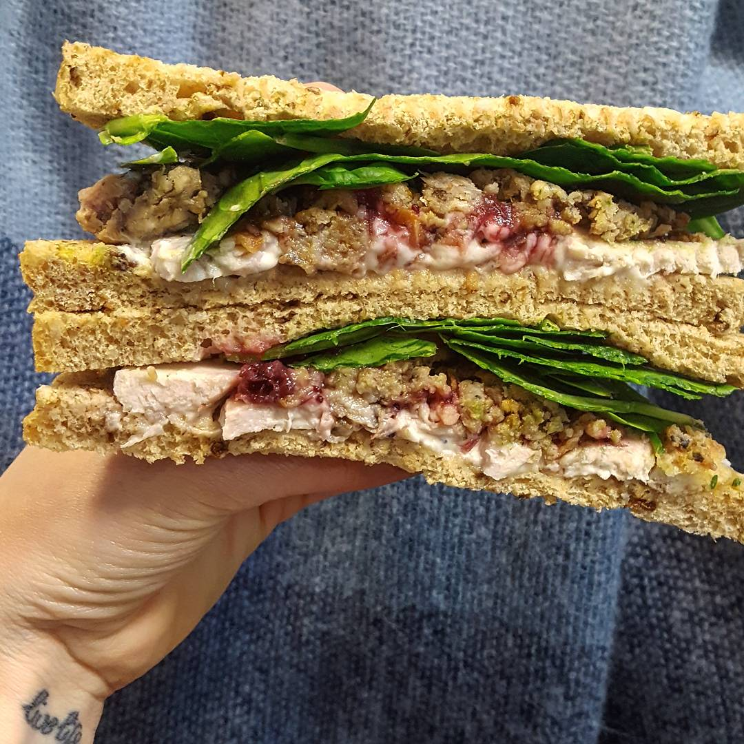 Christmas Food - Pret Christmas Sandwich