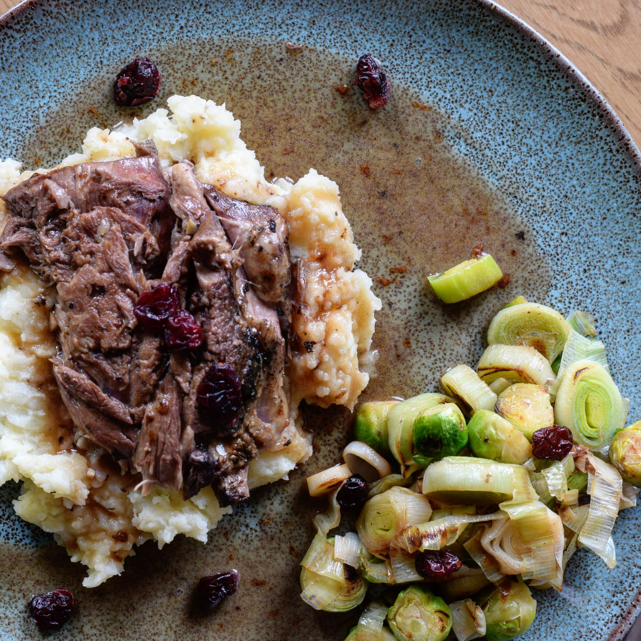 Recipe|| Festive slow-cooked lamb