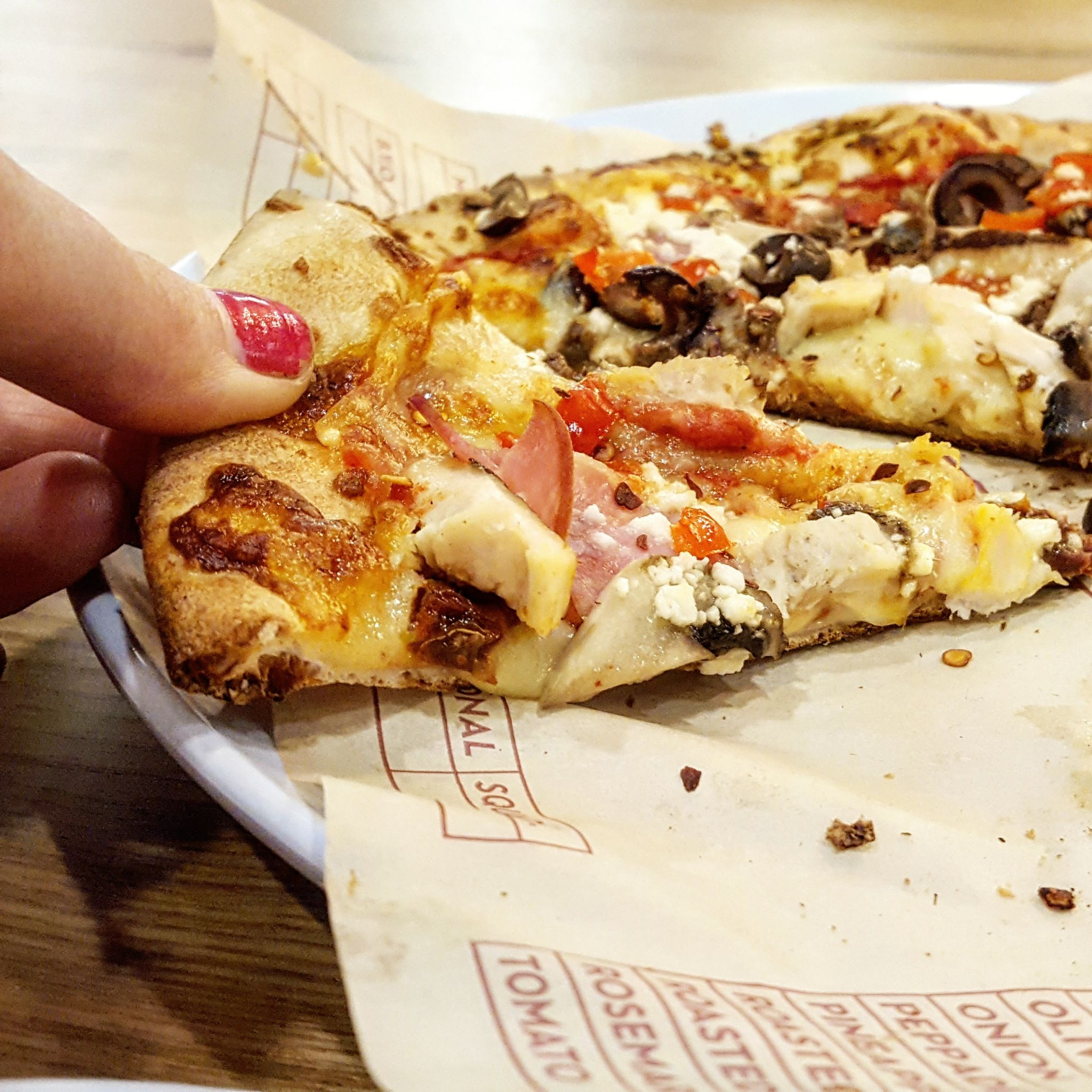 Eating Out Mod Pizza Brand New Pizza Spot In Leicester