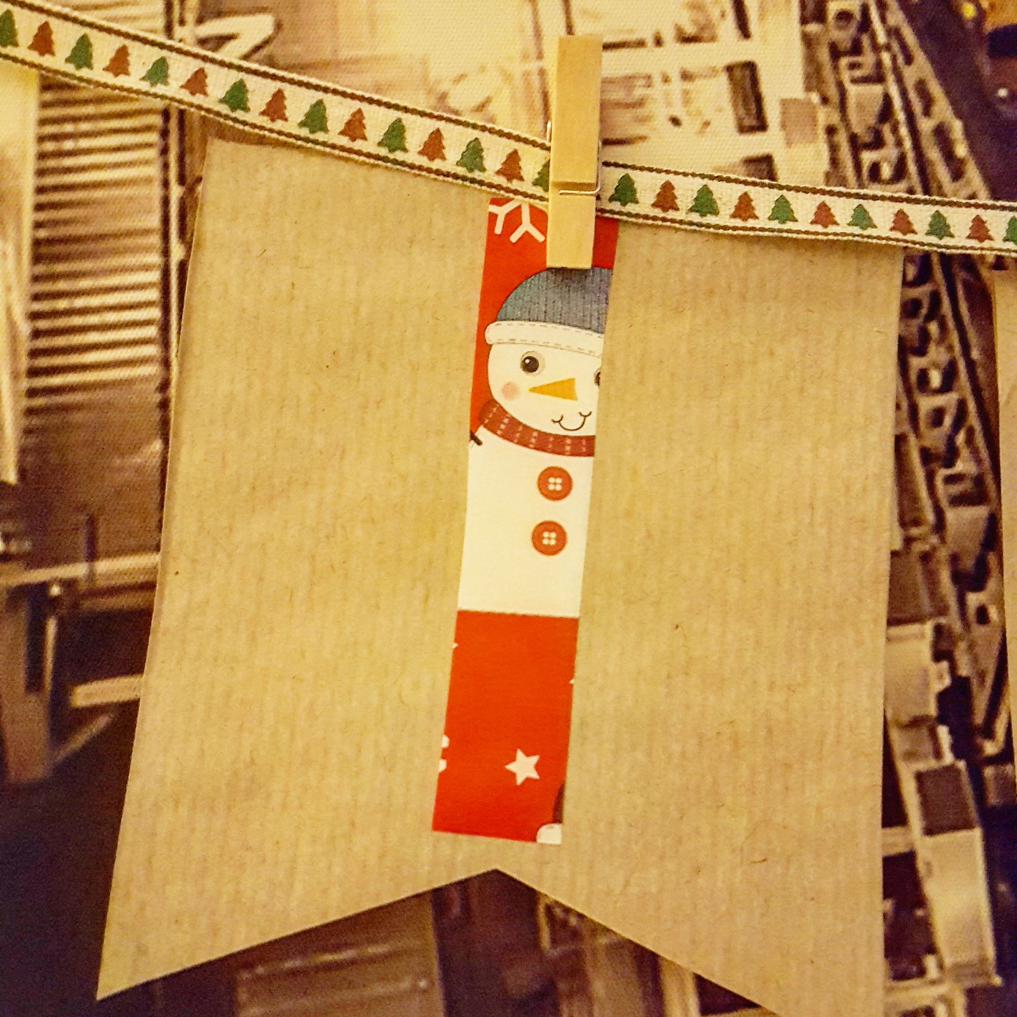 Christmas craft - Christmas sign