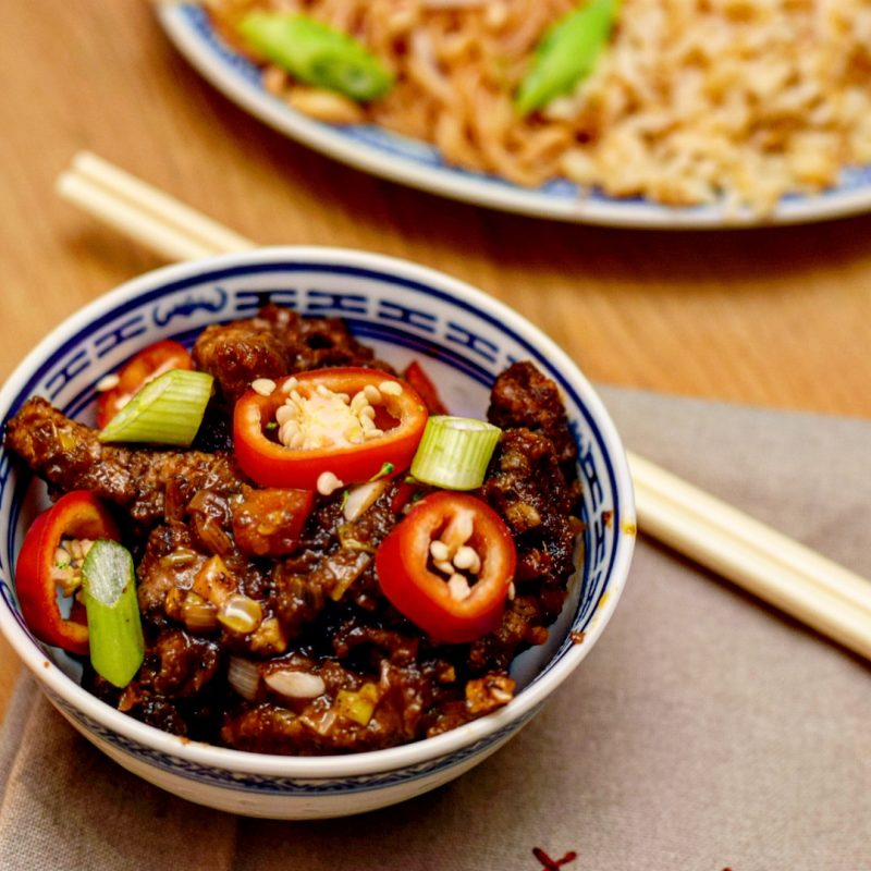 Chinese Crispy Chilli Beef Recipe in collaboration with WingYip