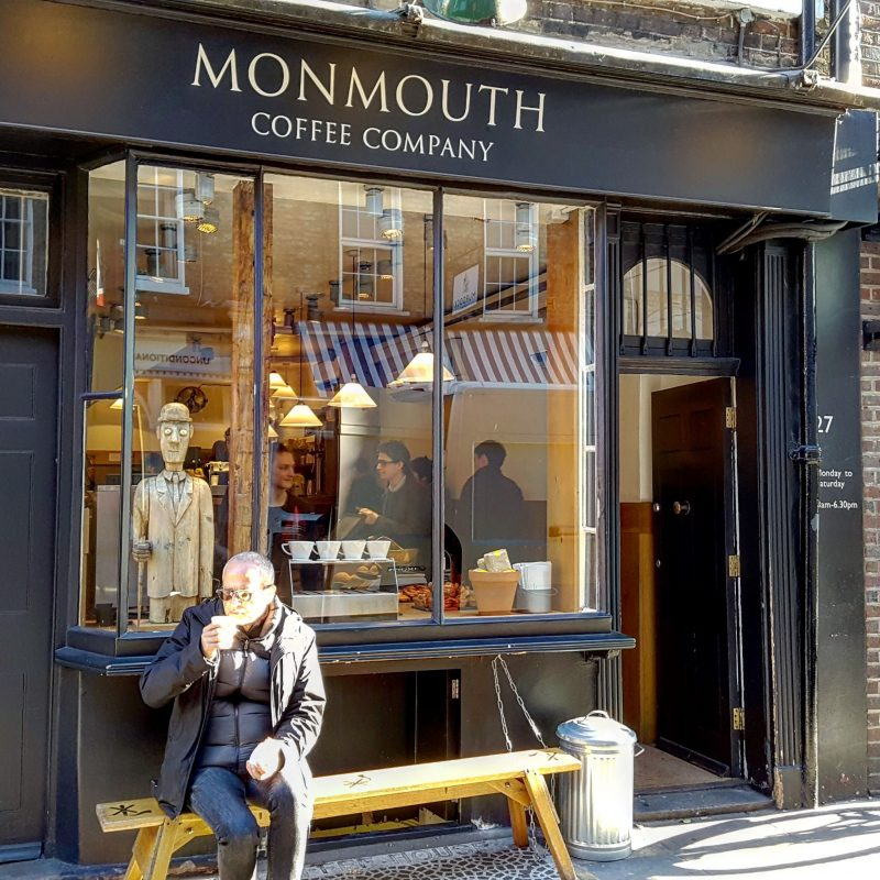 Out & About|| Coffee at Monmouth Coffee Company
