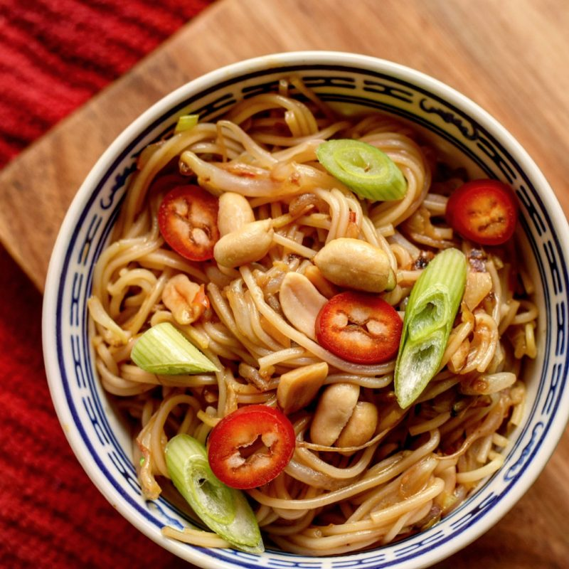 Stir Fried Noodles Recipe, Chinese New year