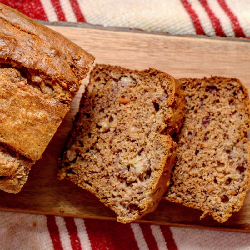 Wholemeal banana loaf recipe (4)