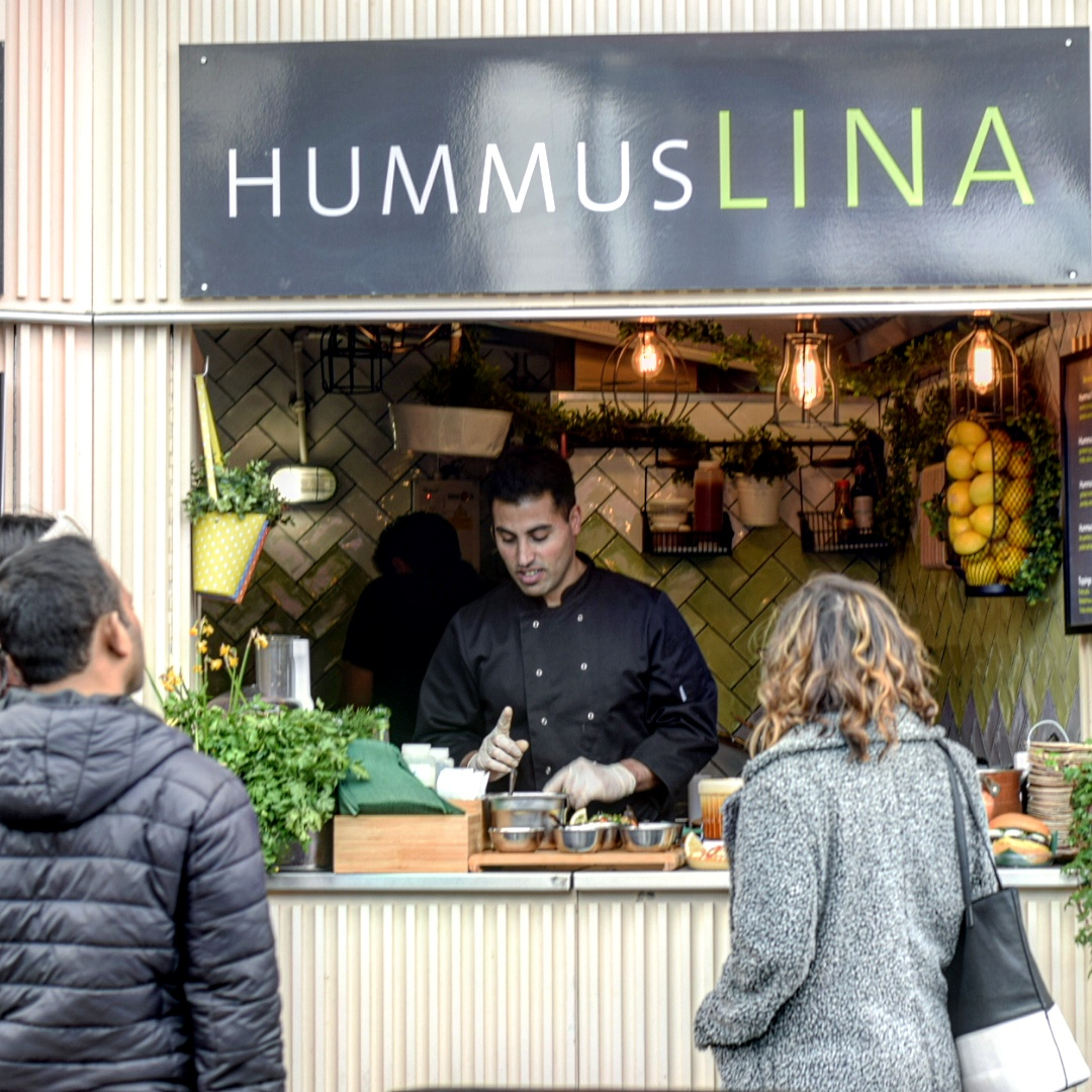 Eating Out|| Hummus Lina, Camden