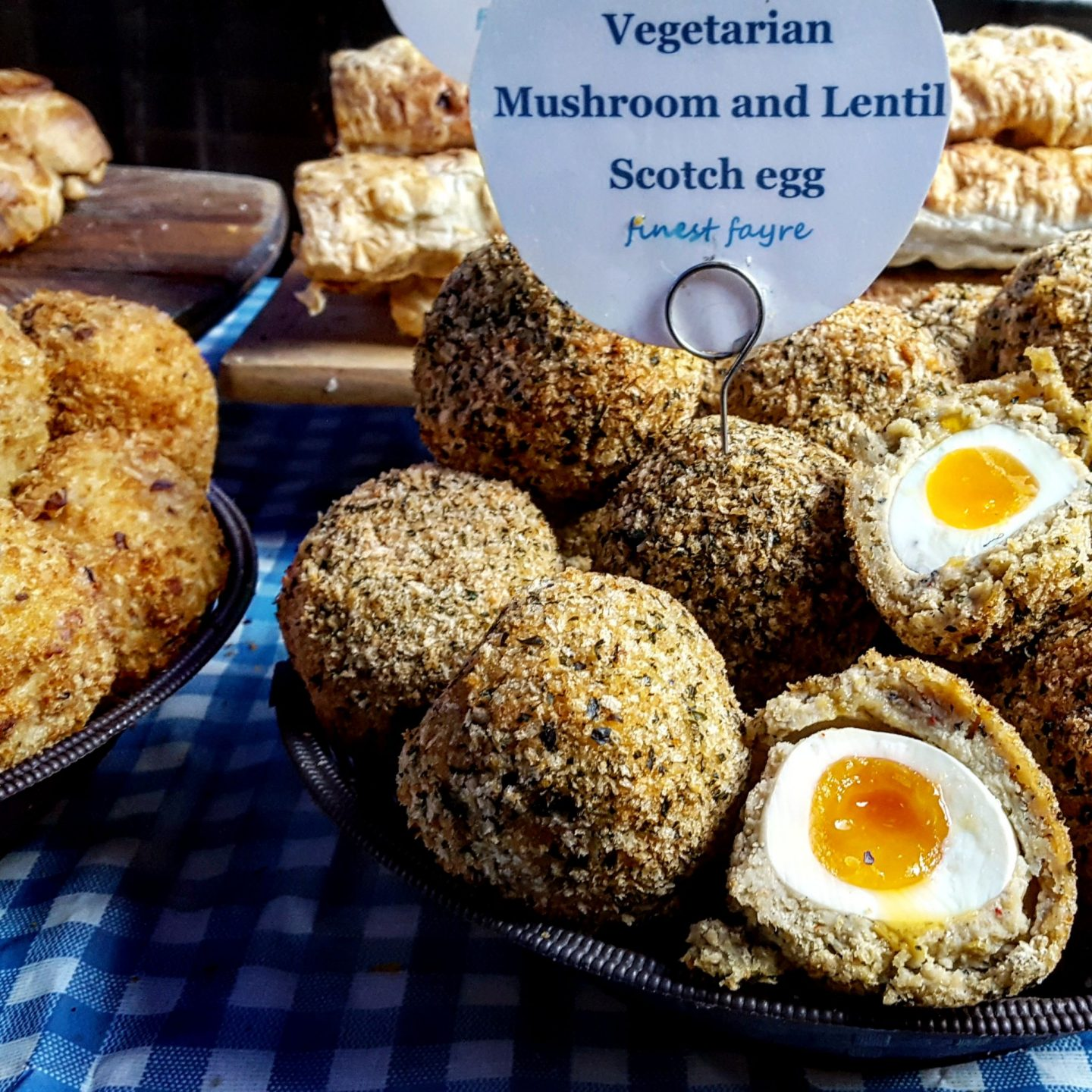 Maltby Street Market,Finest Fayre, Scotch Egg