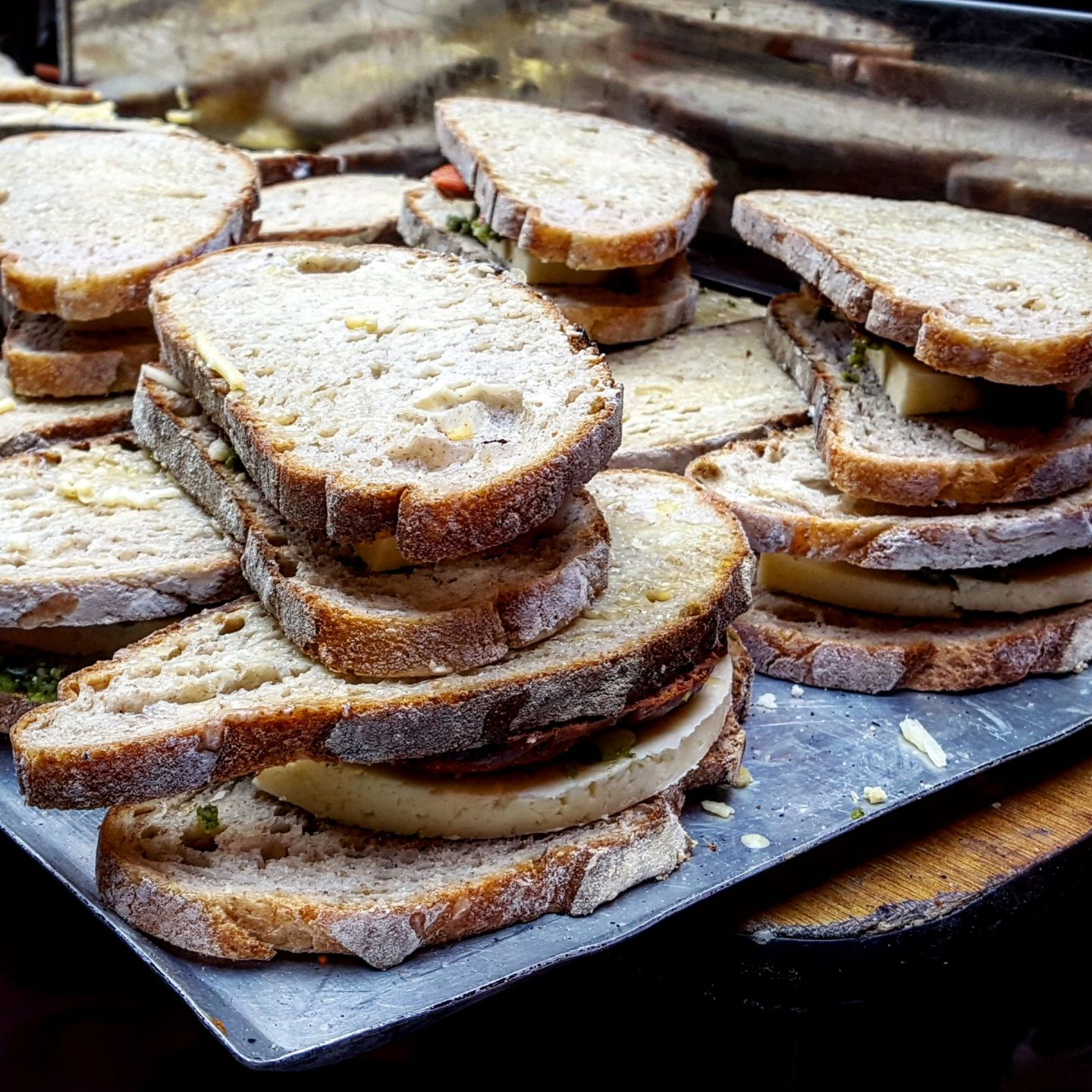 Maltby Street Market, The Cheese Truck, Cheese Toastie