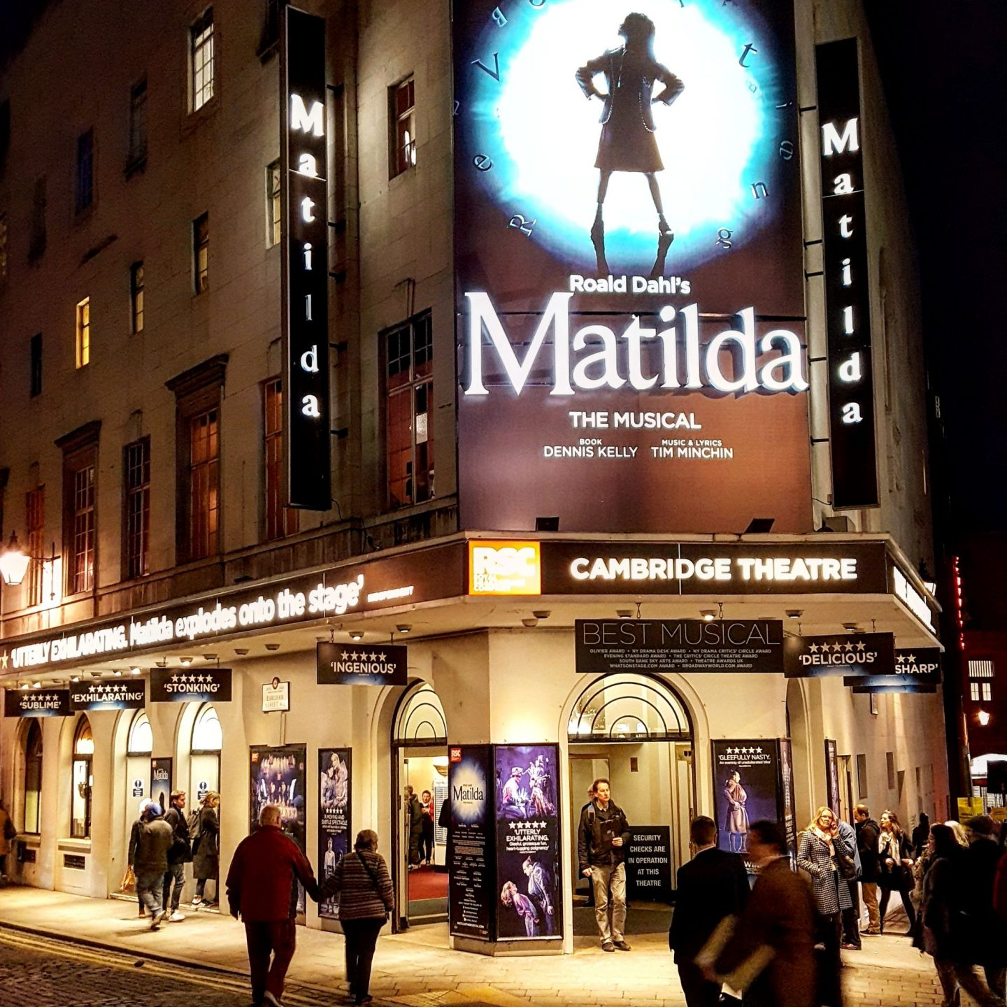 Out & About|| Matilda the Musical