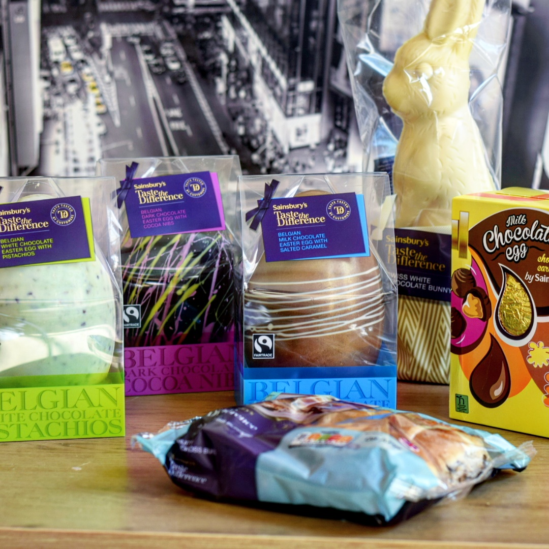 Easter treats, O2 Centre Finchley Road, Sainsbury's
