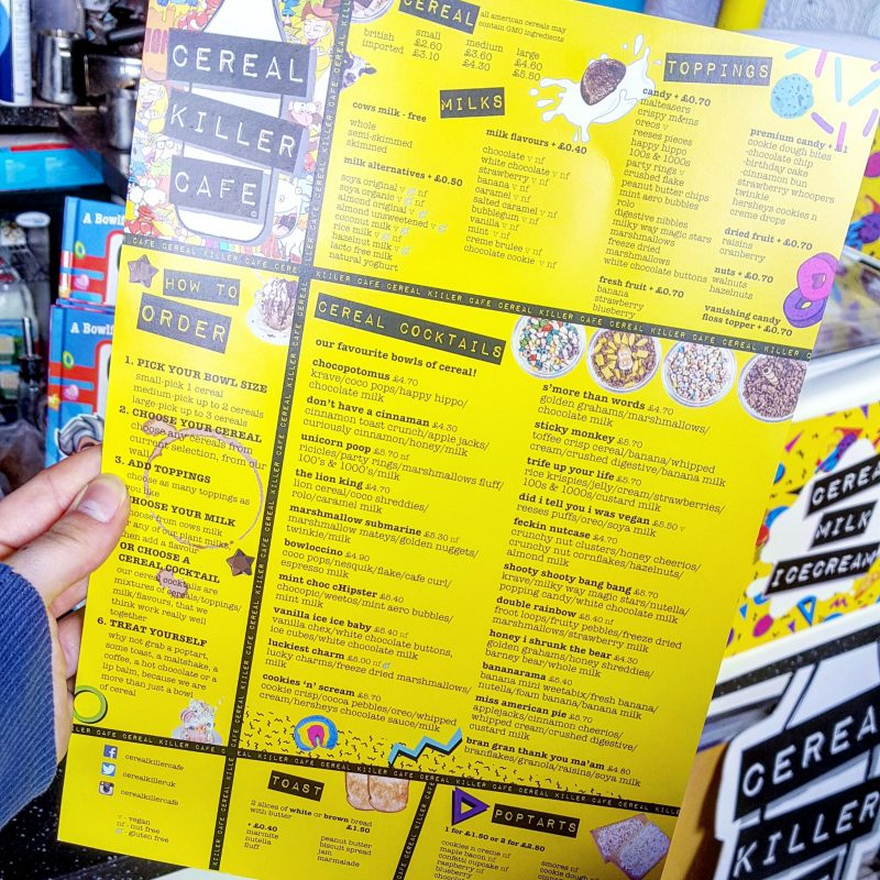 Cereal Killer Cafe, Camden