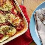 Courgette and Mozzarella Bake Recipe