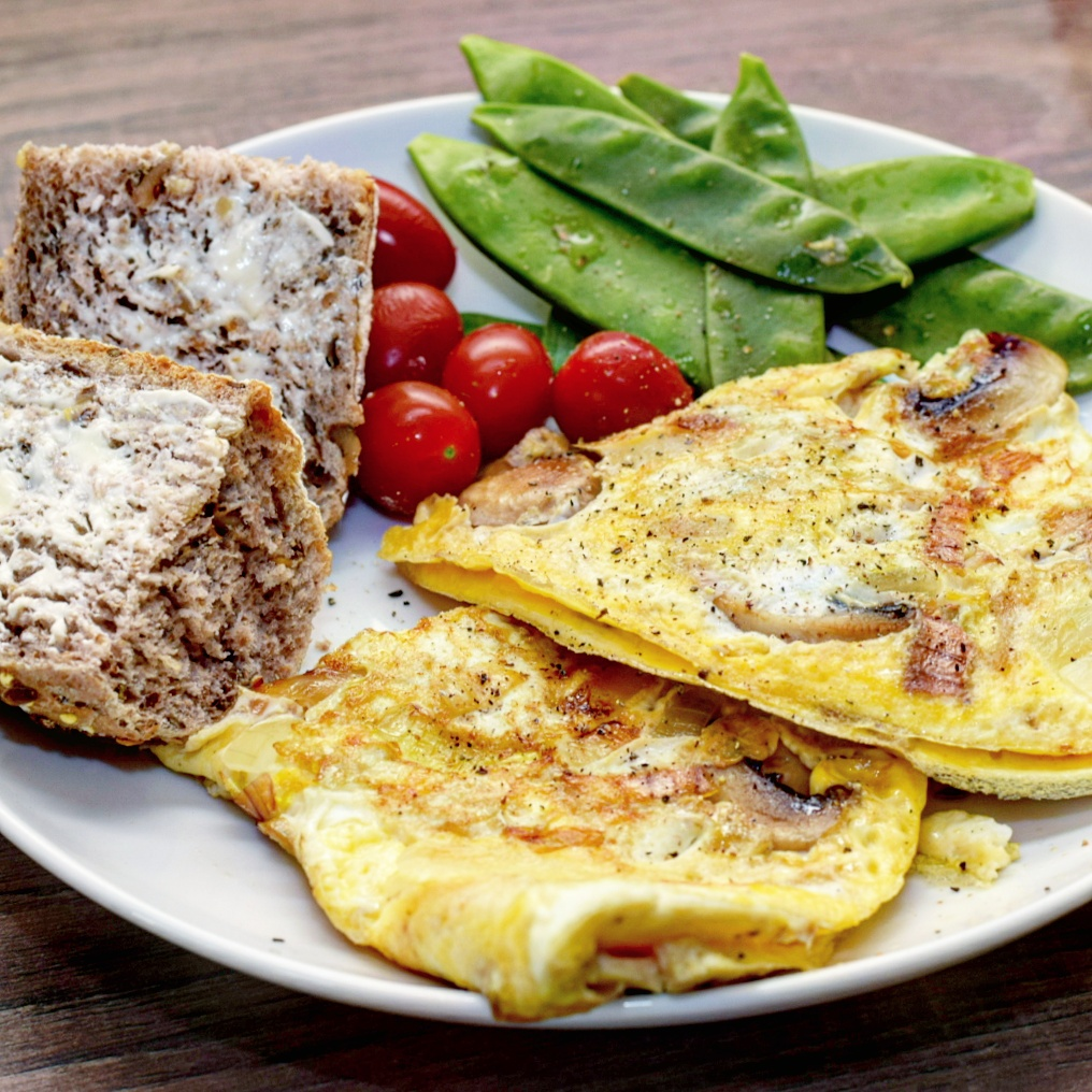 Ultimate Mushroom Omelette Recipe