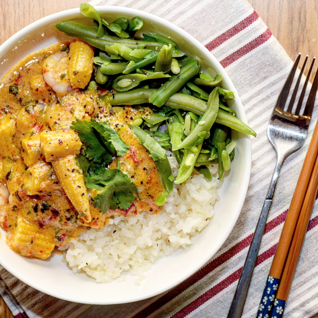 Thai Red Prawn Curry Recipe