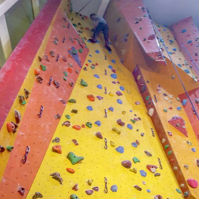 Rock Climbing at Seymour Centre