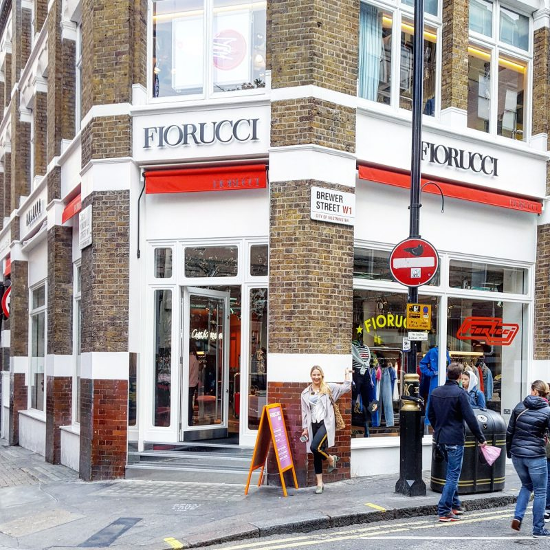 Fiorucci, Palm Vaults, Soho Cafe