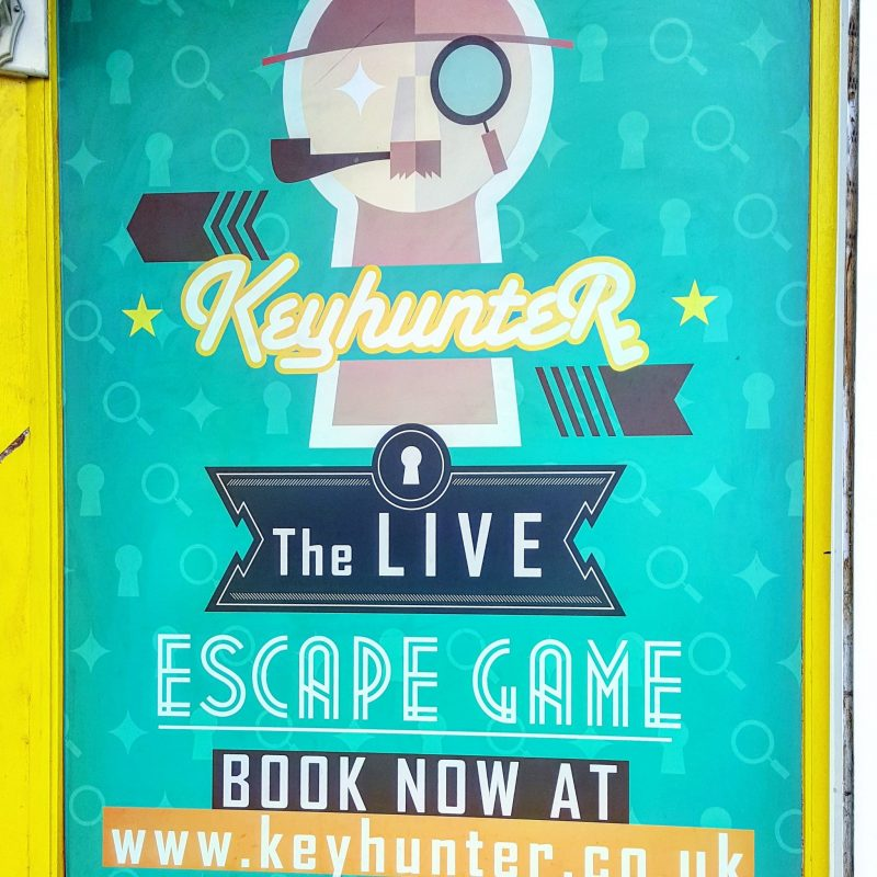 Out & About|| Keyhunter Live Escape Room, Birmingham