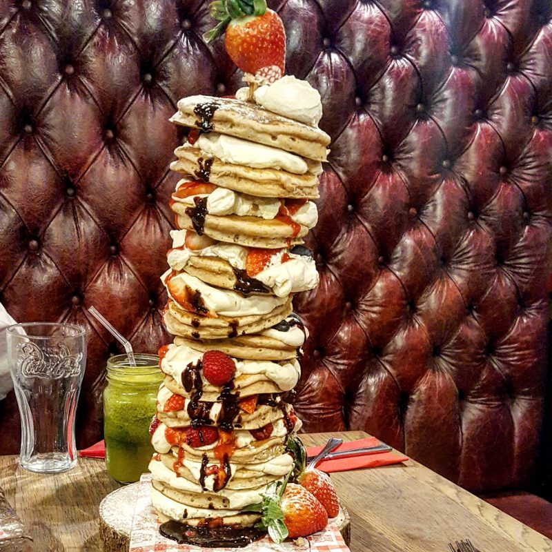Polo 24 hour bar pancake day 2018 menu