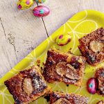 Easter Blondies with Galaxy Caramel Eggs Recipe