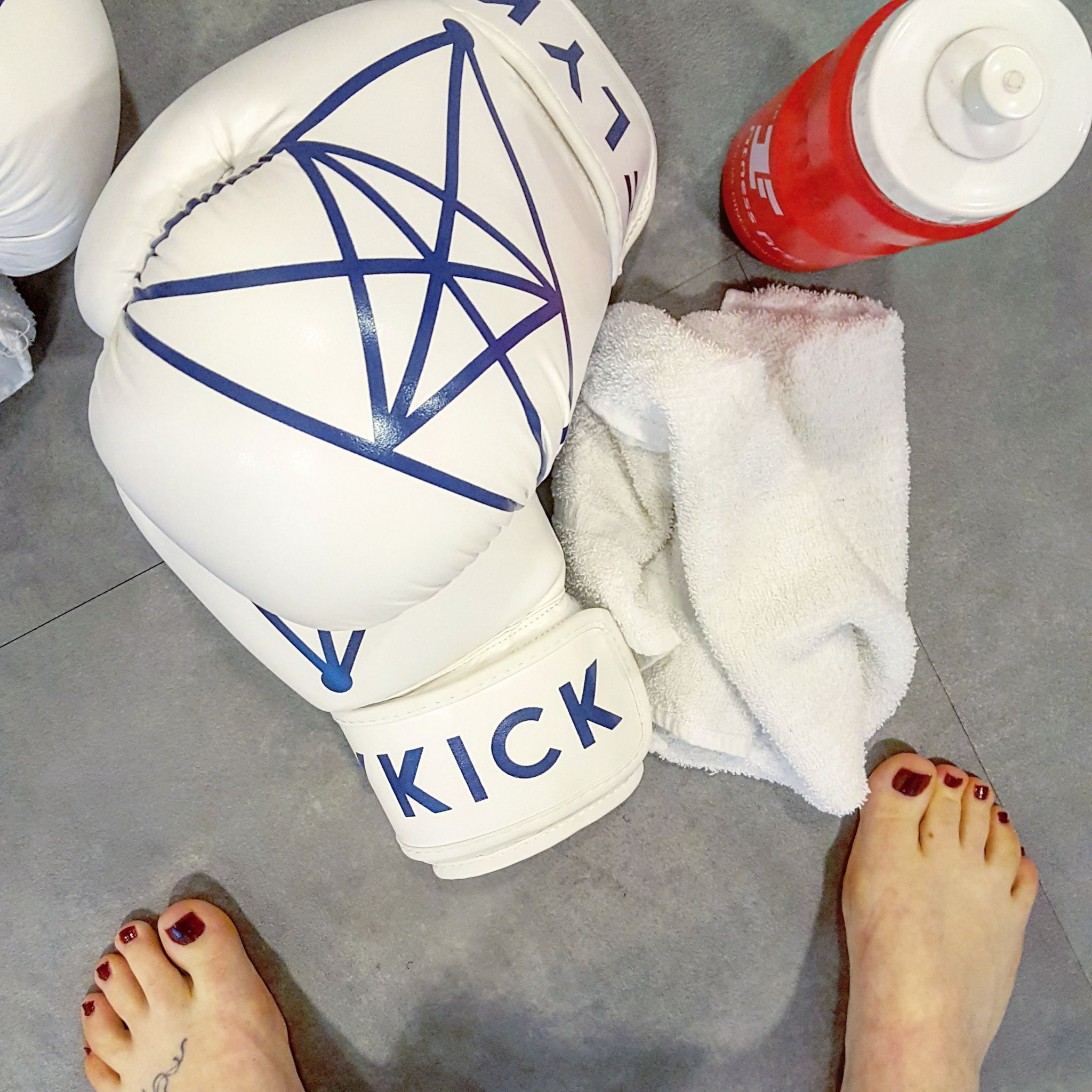 Flykick, Kickboxing, London