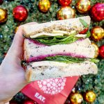 EAT Brie, cranberry & stuffing sandwich