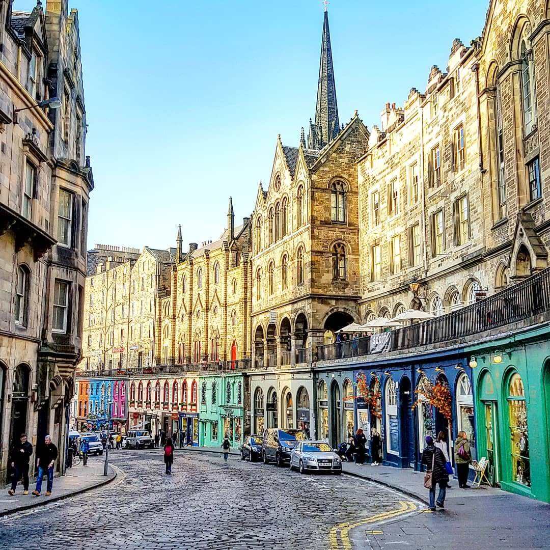 Edinburgh festive weekend break