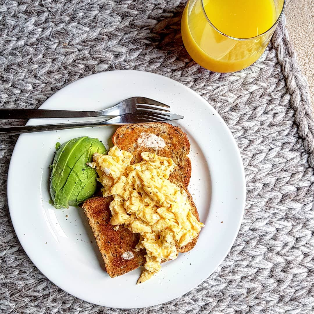 Recipe|| The ultimate garlic scrambled egg