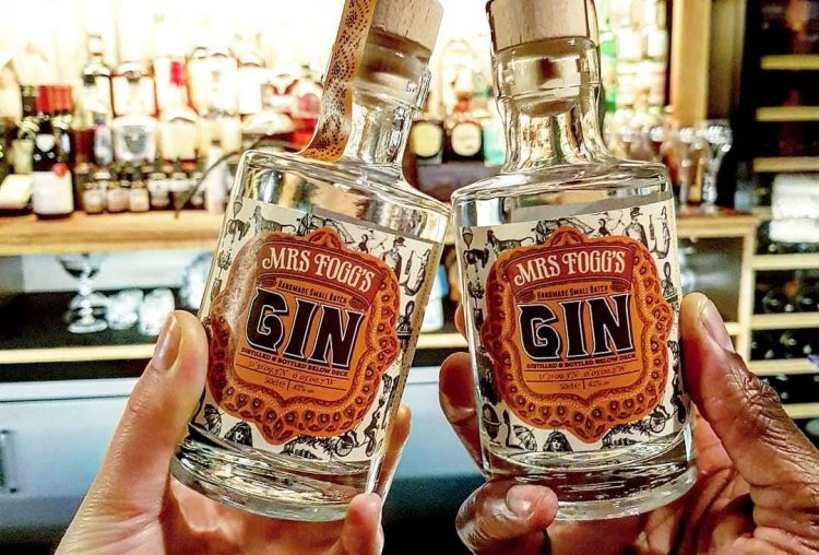 Out & About|| Mrs. Foggs Maritime Club & Distillery Gin Adventure
