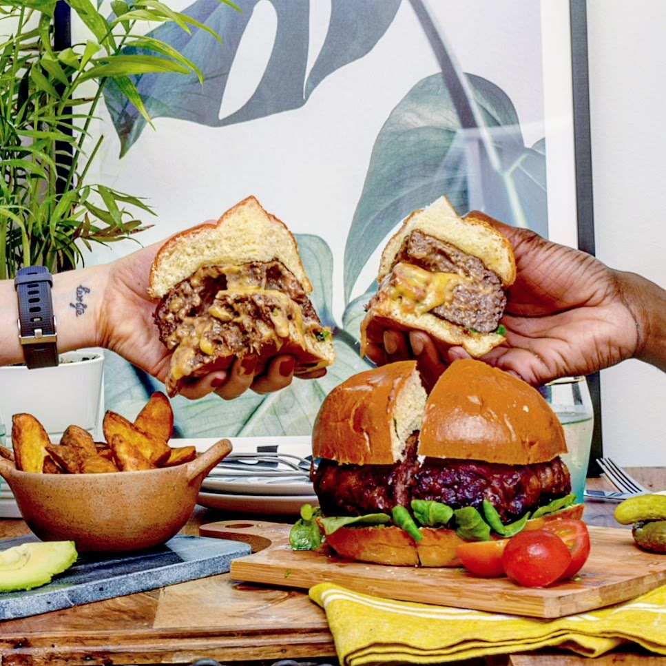 new food & drink: M&S Daddy of all Burgers