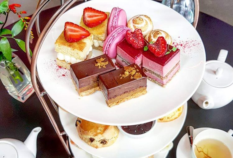Eating Out|| Afternoon Tea at The Green Room, Shoreditch