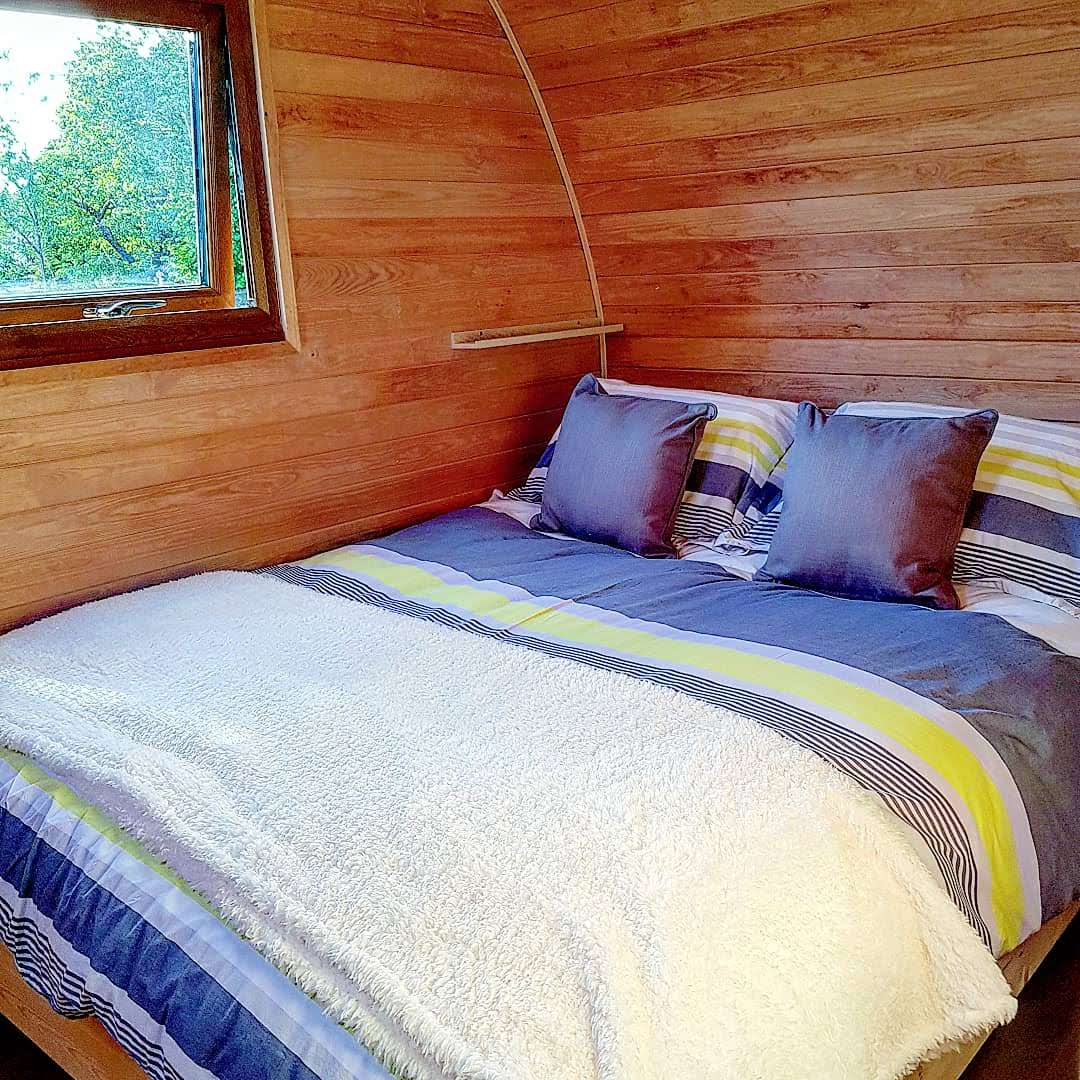 Wootton Park, Aquarius Pod, Glamping in the West MIdlands