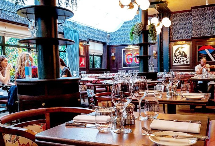 Eating Out|| Moncks of Dover Street, Mayfair